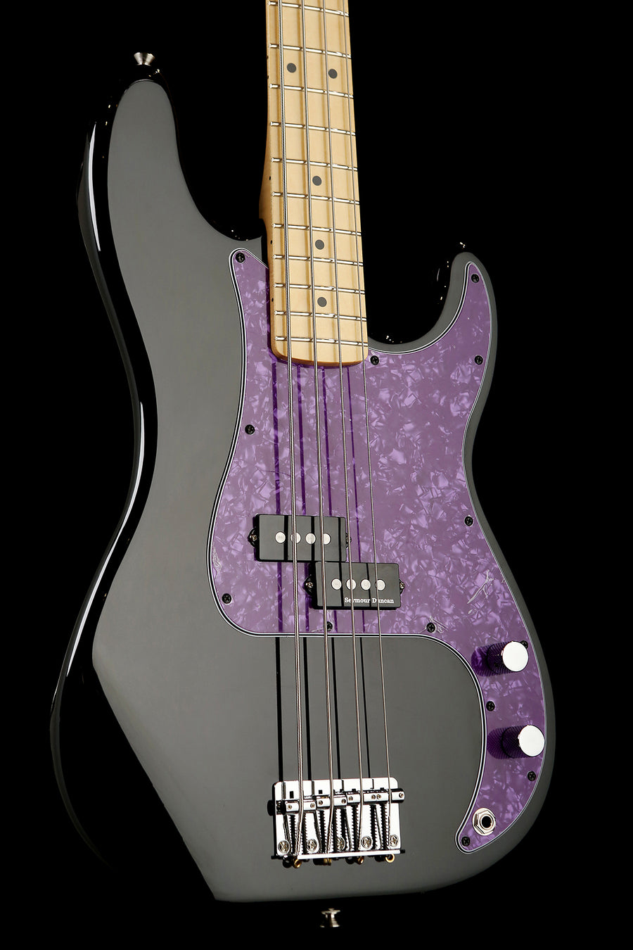 Fender Player Precision BC Custom w/Quarter Pounder and Purple PG