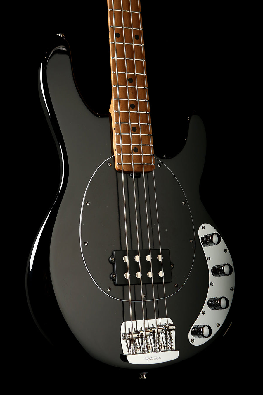 Ernie Ball Music Man Stingray Special 4 H Black Roasted Maple