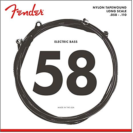 Fender 9120M Nylon Tapewound 4 string