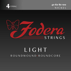 Fodera Nickel 4 String Sets