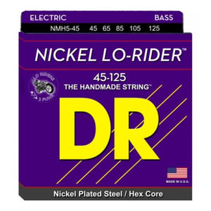 DR Strings Nickel Lo-Rider  5 Str Set 45/125