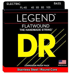 DR Legend Flat wound Bass Strings