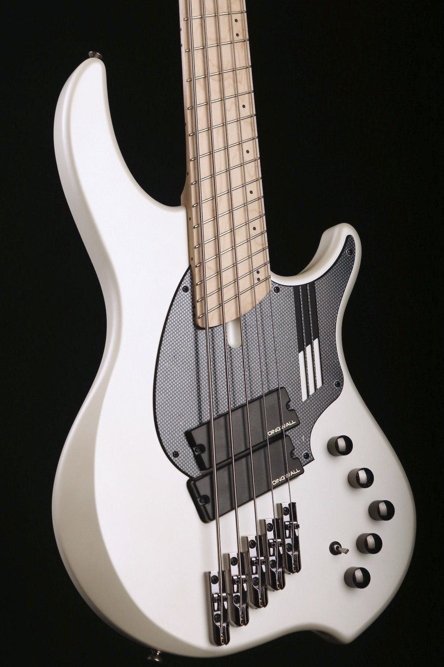 "Dingwall NG-2,  5 STRING ""Nolly Getgood"" In Ducati Matte White"