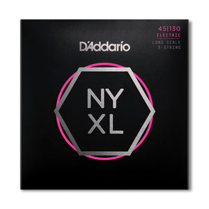D'Addario 'New York' XL Nickel Wound 5 string