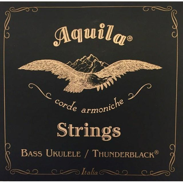Aquila Bass Ukulele Strings - Thunderblack
