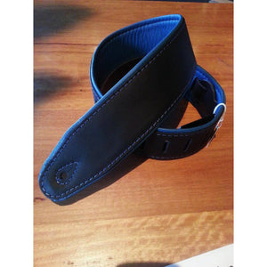 "Colonial Leather Soup 2.5"" Padded Leather Strap - Bass Centre"