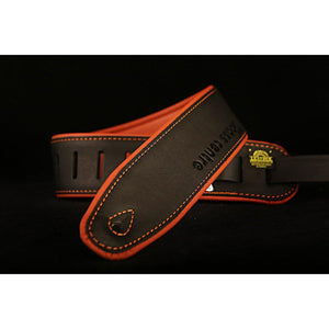 "Accessories - Colonial Leather Soup 2.5"" Padded Leather Strap"
