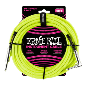 Accessories - Ernie Ball 18' Braided Cables