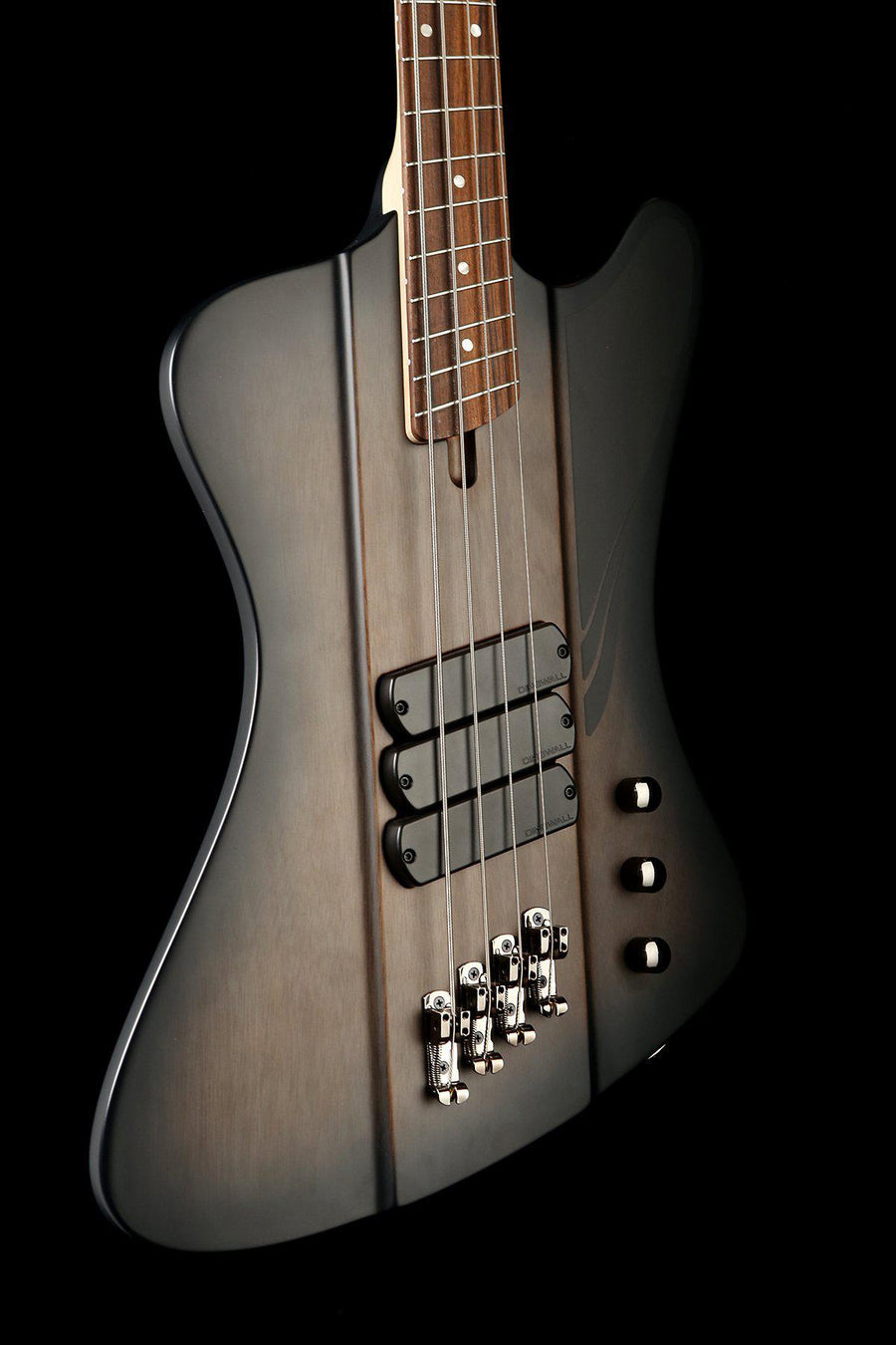 Bass Guitars - 2019 Dingwall D-Bird Standard 4 Blackburst