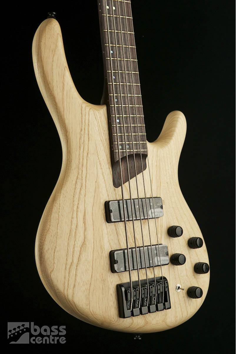 Bass Guitars - Cort  B5  Bass Gtr Open Pore Natural