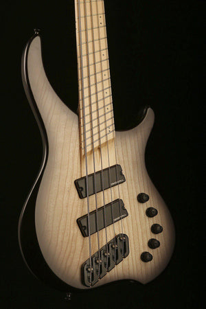Dingwall ABZ 5 Black to Natural Burst, Maple Fretboard - Bass Centre