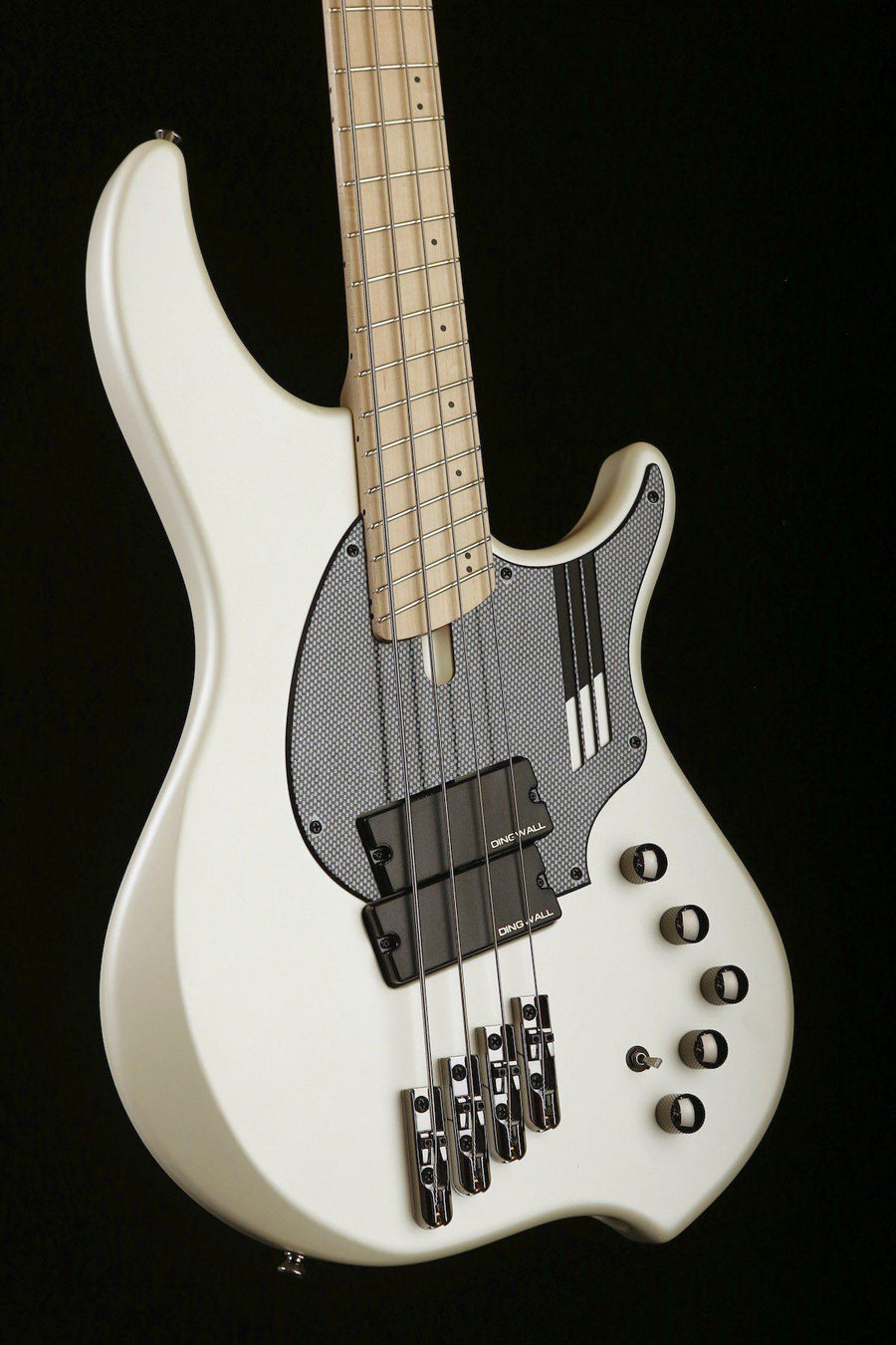 "Bass Guitars - Dingwall NG-2,  4 STRING ""Nolly Getgood"" In Ducati Matte White"