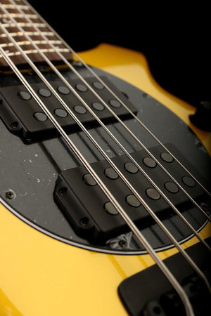 Bass Guitars - Ernie Ball Music Man Bongo 5 HH Firemist Gold