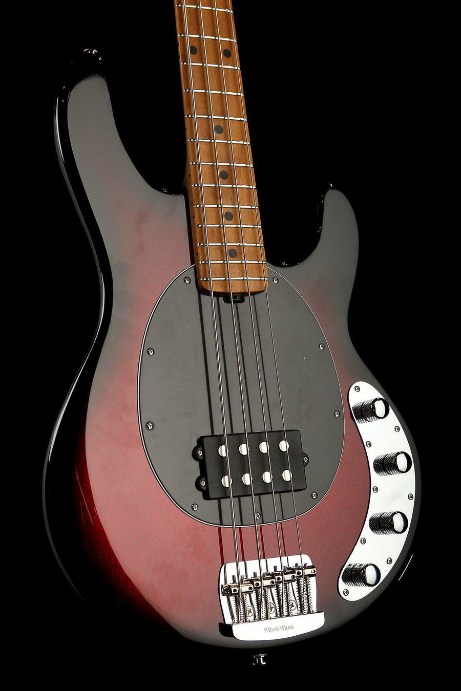 Bass Guitars - Ernie Ball Music Man Stingray Special 4 H Burnt Apple Roasted Maple