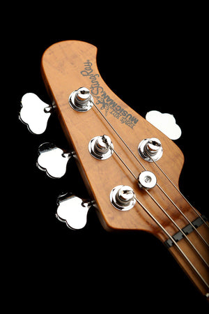 Bass Guitars - Ernie Ball Music Man Stingray Special 4 Natural Ash Roasted Maple