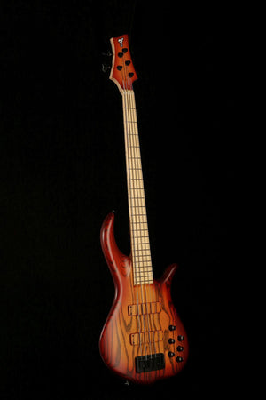 F Bass BN5 Auburn Burst - Bass Centre
