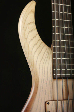 Bass Guitars - F Bass BN5 Brown Burst Fade