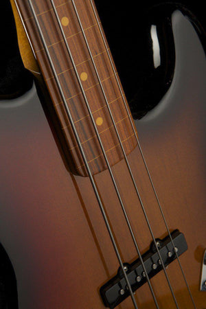 Bass Guitars - Fender Jaco Pastorius Fretless Jazz Bass