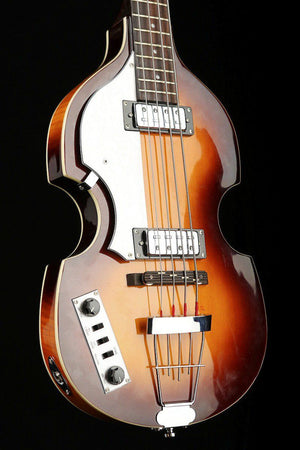 Bass Guitars - Hofner Ignition Series Violin Bass Sunburst Left Hand