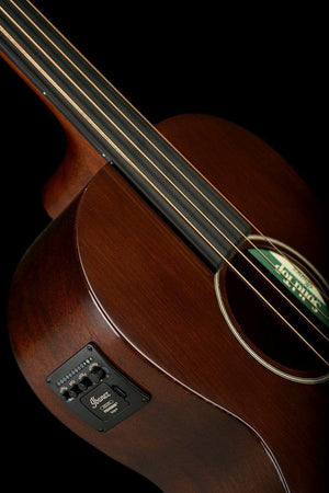 Bass Guitars - Ibanez AVNB1FE BV Artwood Fretless Vintage Acoustic Bass