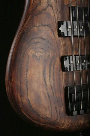 Bass Guitars - Ibanez SR655 Antique Brown Stain 5 String