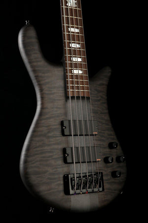 Bass Guitars - Spector Euro 5 Matte Black