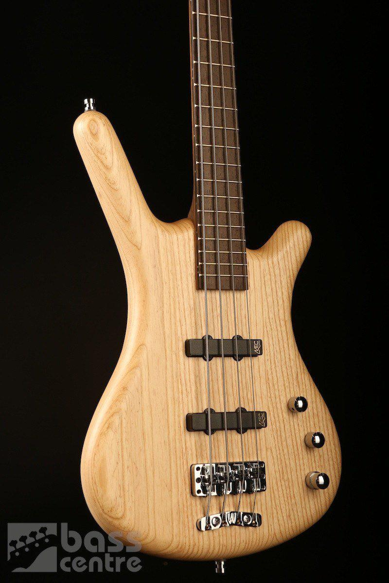 Bass Guitars - Warwick German Pro Series Corvette 4 Active, Natural Ash
