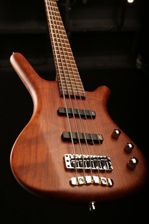 Bass Guitars - Warwick German Pro Series Corvette 5 String, Bubinga
