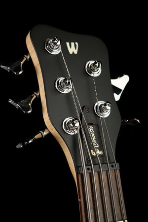 Bass Guitars - Warwick Rockbass Corvette Basic 5 Trans Satin Nirvana Black