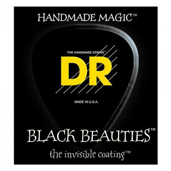 DR Black Beauties 4 string Set