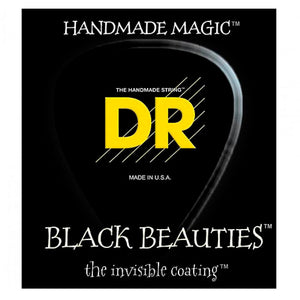 DR Black Beauties 5 string Set