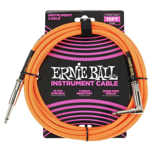 Ernie Ball 10' Braided Cables