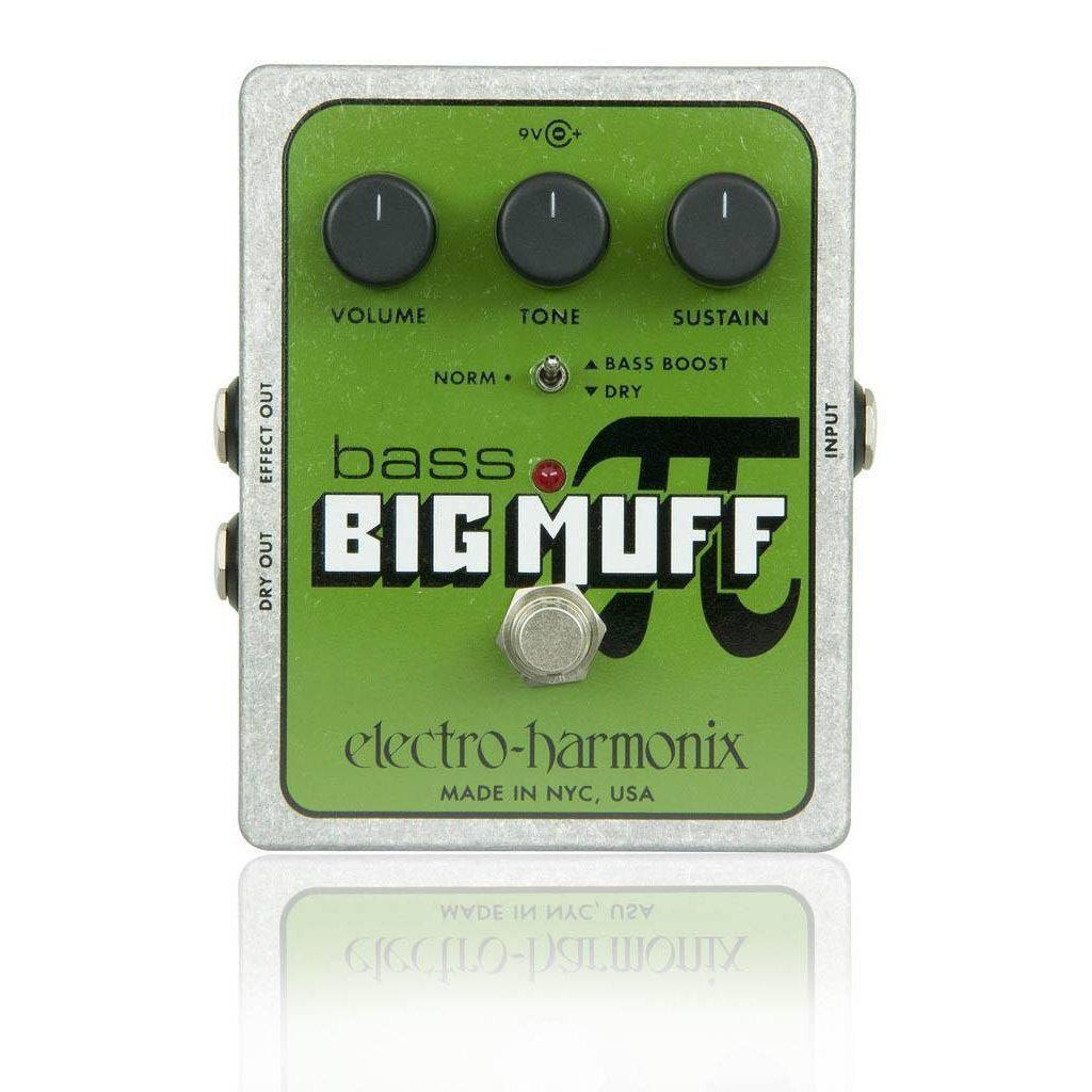 Electro Harmonix Bass Big Muff Distortion Sustainer Centre Pi Effect