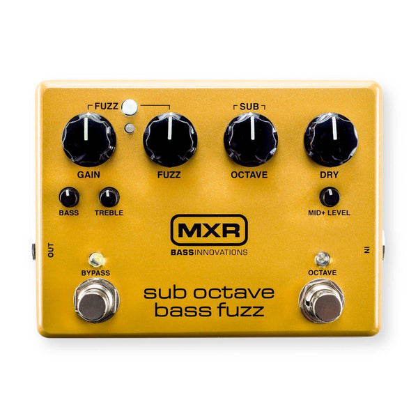 Effects - MXR M287 Sub Octave Bass Fuzz