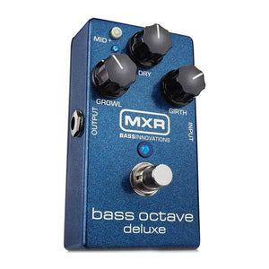 Effects - MXR M288 Bass Octave Deluxe Effect Pedal