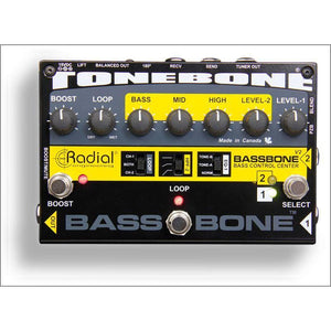 Effects - Radial Tonebone Bass Bone Preamp Di V2