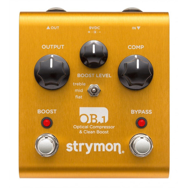 Effects - Strymon OB1 Optical Compressor And Boost Pedal