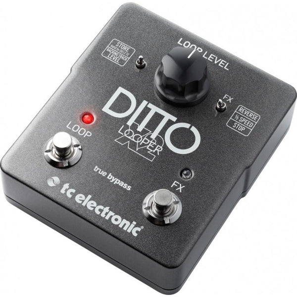 Effects - Tc Electronic Ditto Looper X2 Pedal