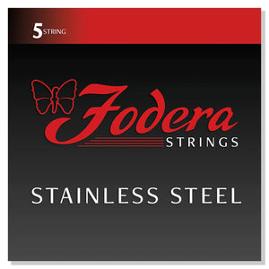 Fodera Stainless Steel 5 String Sets