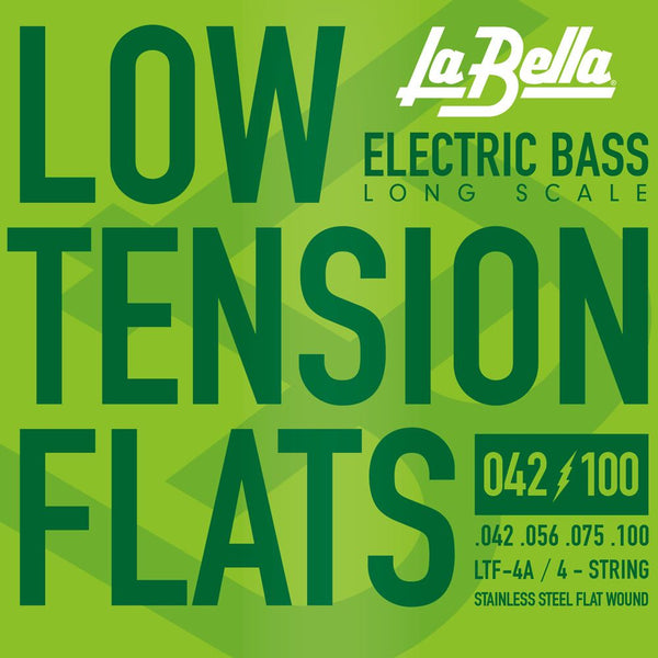 La Bella Low Tension Flatwound 4 string