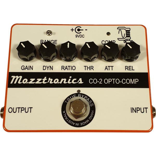 Mozztronics CO-2 Optical Compressor Pedal