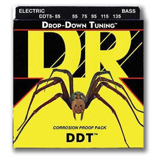 Strings - 5 String DR DDT - Drop Down Tuning