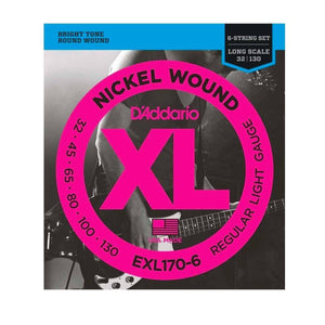 Strings - D'Addario EXL170-6 Nickel Wound 6 String