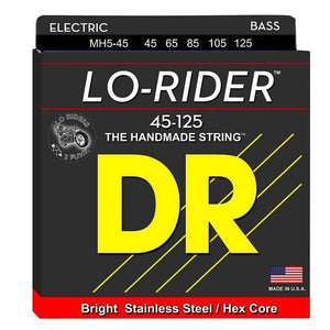 Strings - Dr Strings Lo-Rider  5 Str Set 45/125