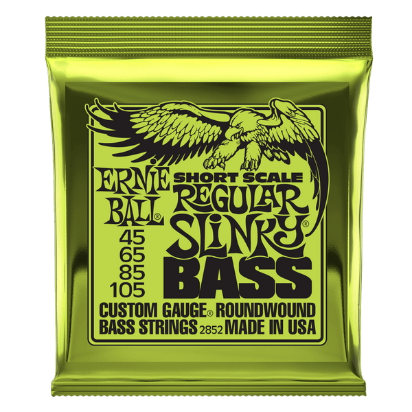 Strings - Ernie Ball Regular Slinky Short Scales