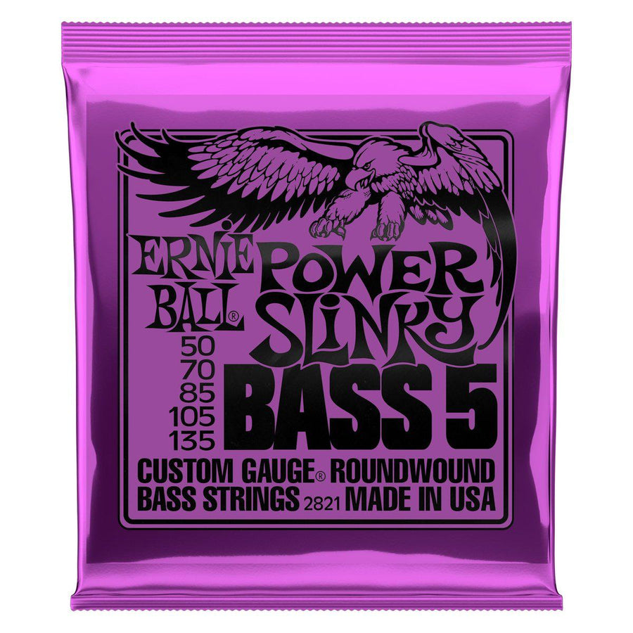 Strings - Ernie Ball Slinky 5 String Bass Strings