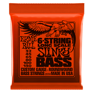 Strings - Ernie Ball Slinky 6 String Bass Strings