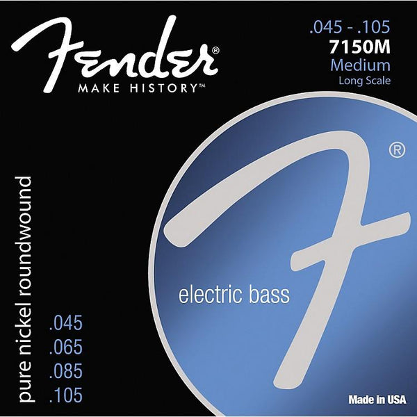 Strings - Fender 7150M Pure Nickel Bass 4 String