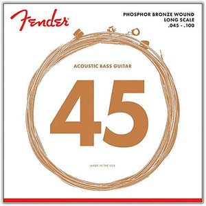 Strings - Fender 8060 Phosphor Bronze Acoustic Bass 45/100