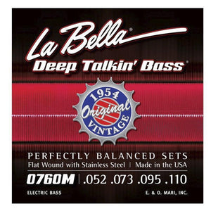 Strings - La Bella Flatwound 4 Strings